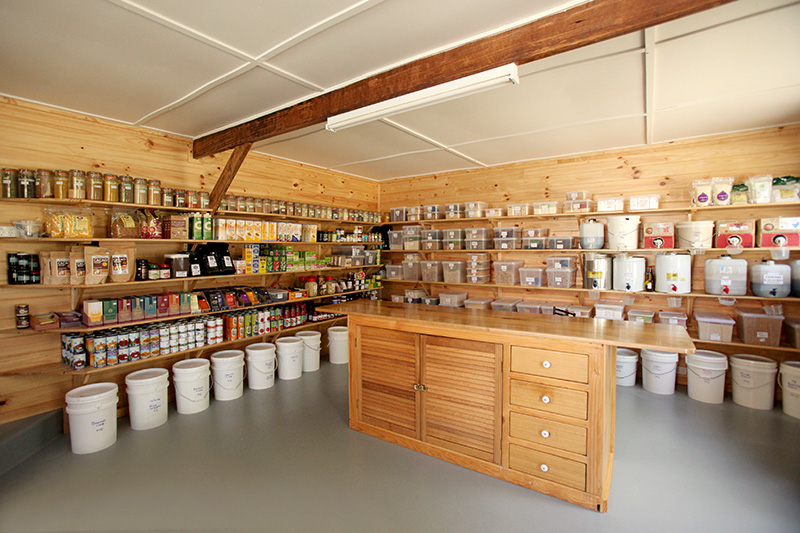 Organic Shop at Tranquil Point
